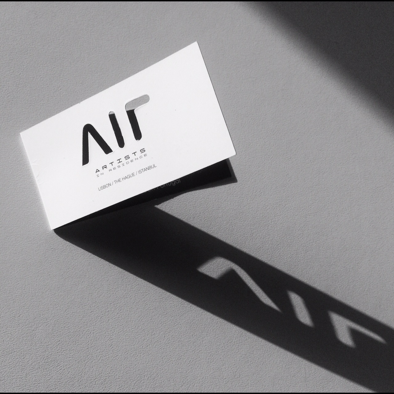 AIR GALLERY / LOGO + BUSINESS CARD DESIGN – Celsius